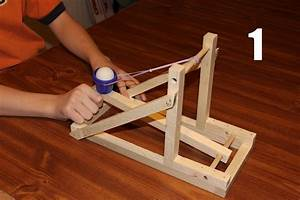 Build Tennis Ball Catapult
