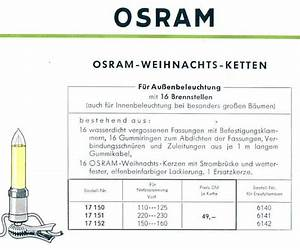 C Und A Prospekt : osram weihnachtsbeleuchtungen und lichterketten1956 alter ~ Watch28wear.com Haus und Dekorationen