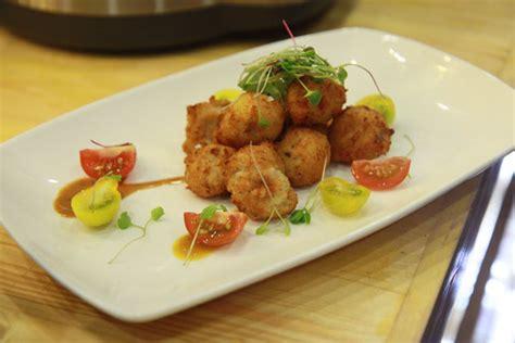 cuisine gastrique crispy tinapa mahi mahi and bangus fishballs with fresh