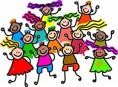 Celebrate Clip Clipart Children Re Together Dance