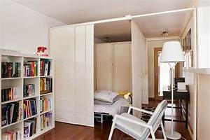 5 methodes astucieuses pour integrer sa chambre dans le salon With faire une chambre dans un salon