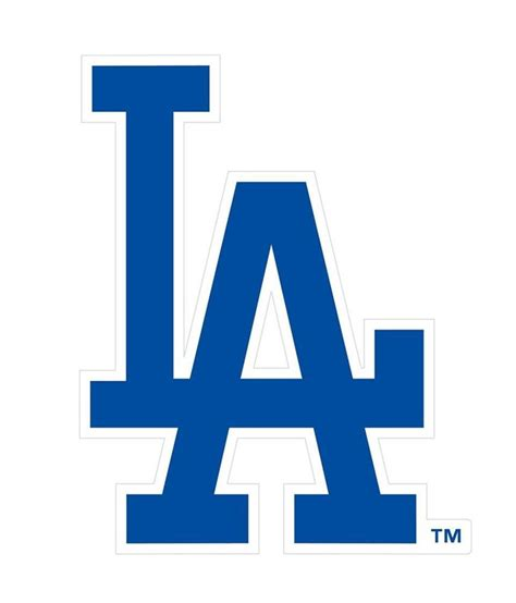 los angeles dodgers  logo car  truck large magnet