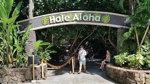 Entrance to our BBQ Buffet Lunch & Luau Buffer Dinner ...