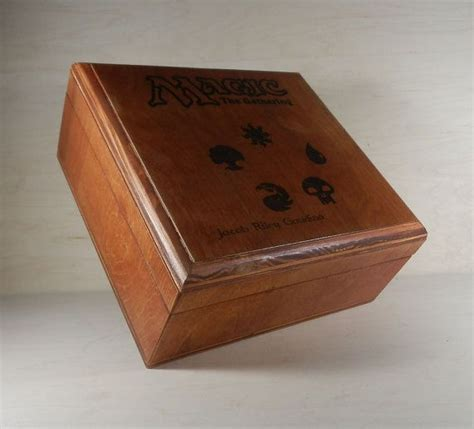 mtg custom deck boxes aaron cain 50 best images about magic storage on magic