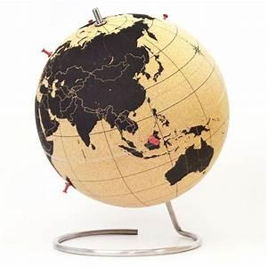 Mappemonde En Liege : die besten 25 kork globus ideen auf pinterest glas hurricane kerzenhalter kerzenwanddekor ~ Teatrodelosmanantiales.com Idées de Décoration