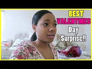 Best Valentines Day Surprise!! - YouTube