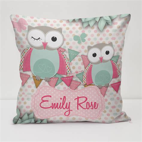 Personalised Kids Cushion Covers  A Great Gift & Keepsake