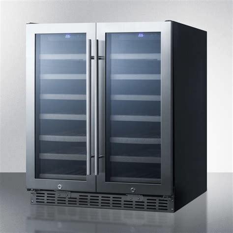 swc summit   dual zone wine cooler