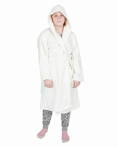 Egyptian Cotton Bath Terry Dressing Hooded Gown