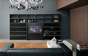 Moderne Wandfarben Für Wohnzimmer : moderne wohnzimmer mit stil und eleganz raumax ~ Sanjose-hotels-ca.com Haus und Dekorationen