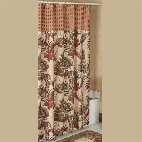 west shower key west tropical shower curtain