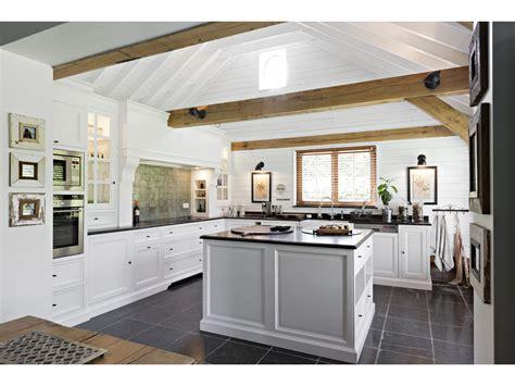 cuisines blanches cuisine blanche rustique le des cuisines