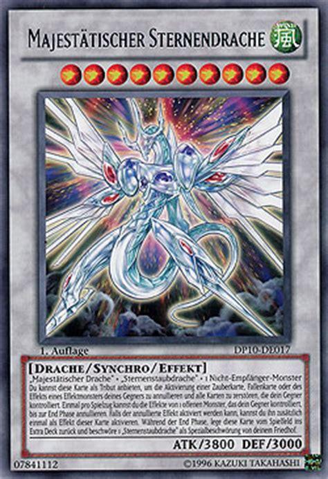 Majestätischer Sternendrache Duelist Pack Yusei 3 Duelist
