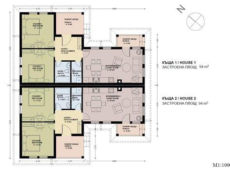 floor plans with photos semi detached house plans