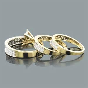 trio wedding ring set à bas prix des bagues en diamant en forme de mariage de diamant jeux de bagues modèles en