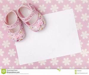 New baby announcement stock image Image of message, pink 49959655