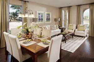 Living, Room, And, Dining, Decorate, Pictures, Interior, Decoration, Arrangement, Together, Layout, Rooms