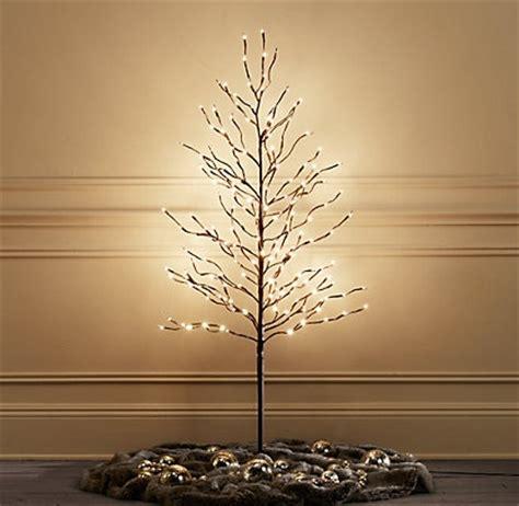 starlit trees restoration hardware christmas ideas