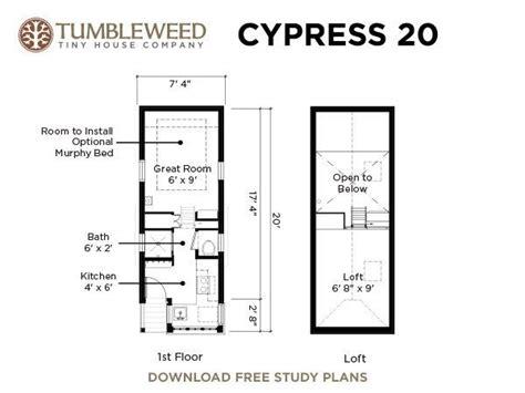 tiny house size cypress