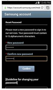 An Ultimate Guide To Samsung Reset Password
