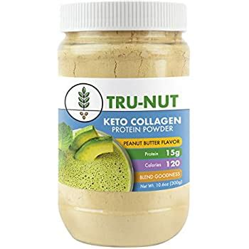 Amazon.com: Tru-Nut Keto Collagen Protein Powder (10.6oz