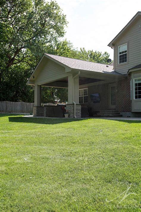 backyard addition neals design remodel
