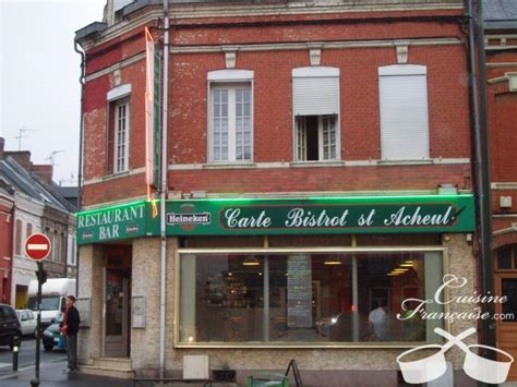 Restaurant Carte Blanche Amiens by Restaurant Carte Bistrot Acheul Amiens Cuisine