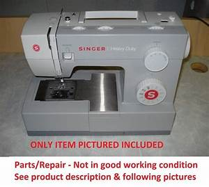 Singer 4411 Heavy Duty Sewing Machine  Repair