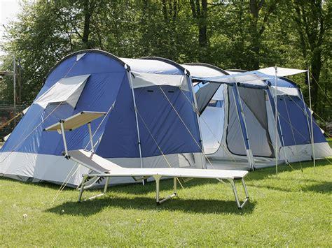 tente familiale 2 chambres skandika montana 8 person family tunnel tent