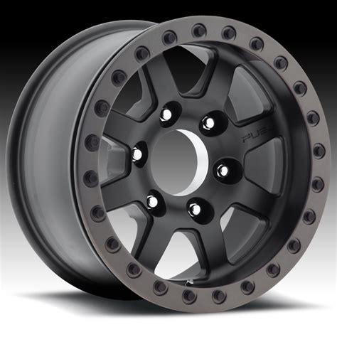 baja truck wheels fuel trophy beadlock d105 black custom truck wheels rims