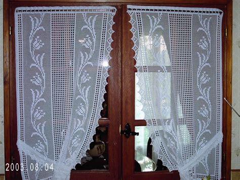 modeles de rideaux au crochet gratuits rideaux au crochet les aiguilles en folies