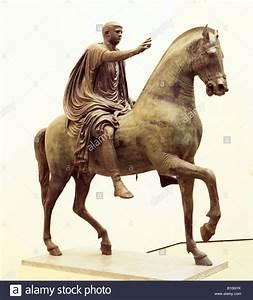 Caligula bronze equestrian statue 1st c Pompeii Italy AAAC ...