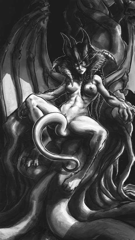 Succubus Fantasy Nsfw Sex Related Or Lewd Adult