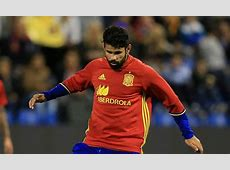 Spain vs England Diego Costa up against Chelsea teammate