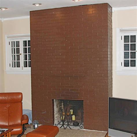 paint for brick fireplace painted fireplace makeover
