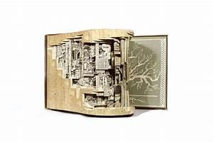 Aus Büchern Falten : kunst aus b chern alte inhalte neu interpretiert wundermagazin ~ Bigdaddyawards.com Haus und Dekorationen