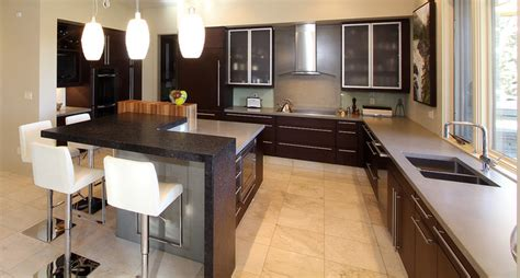 modern organic contemporary kitchen edmonton