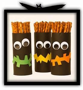 Basteln Halloween Mit Kindern : klopapierrollen geister basteln ~ Yasmunasinghe.com Haus und Dekorationen