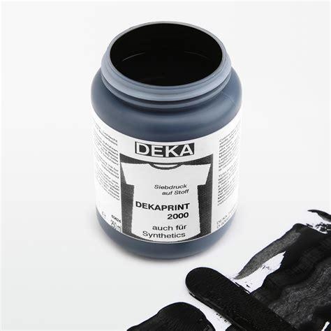 farbe für textilien dekaprint 2000 farbe f 252 r textilien siebdruck