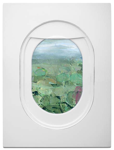 jim darlings airplane window seat paintings frame