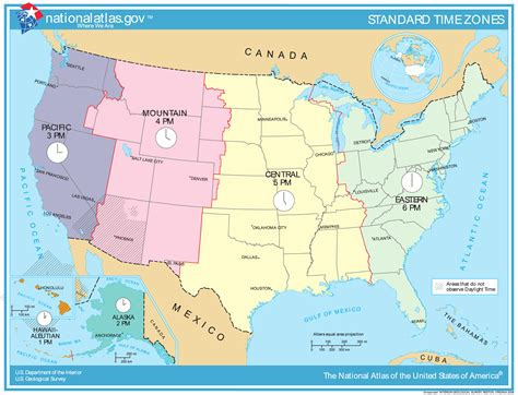 map time zones united states united states timezones map