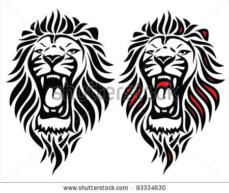 tribal animal tattoo designs