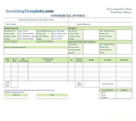 quick invoice template