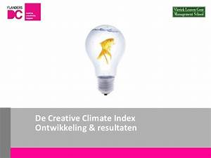 Creativity Talk 'Creative Climate Index'