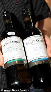 counterfeit jacob39s creek wine gives itself away with With fake wine bottle labels