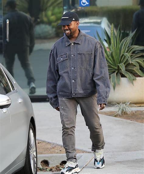 Kanye West in Balenciaga Denim Jacket x YEEZY Wave Runner 700 | YEEZY by Kanye West | Pinterest ...