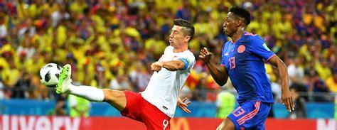 Kolumbijas futbolisti uzvar Poliju un iesaistās cīņā par astotdaļfinālu / Diena
