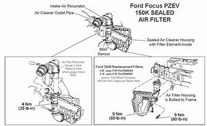 Ford Focus Pzev Air Filter