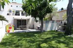 petit jardin avec piscine idee deco pour petit jardin With lovely amenagement petit jardin avec terrasse et piscine 4 amenagements paysagers jardin design
