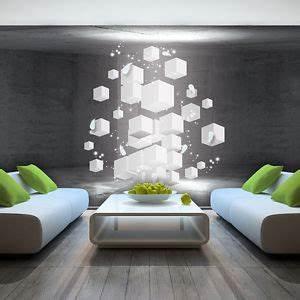 foto wandbild fototapete tapeten tapete quadrat 3d kunst With balkon teppich mit 4d tapete